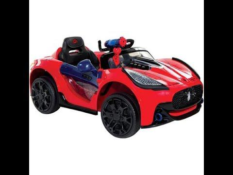 voiture spiderman electrique