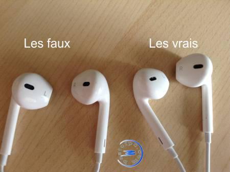 vrai ecouteur apple