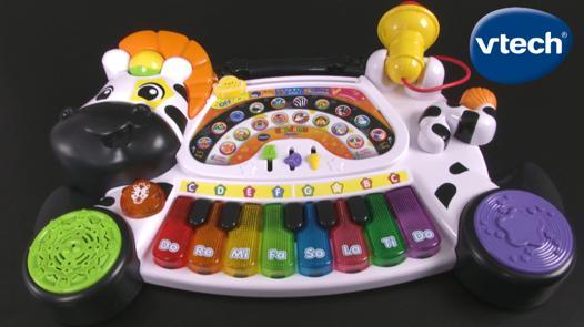 vtech piano zebre