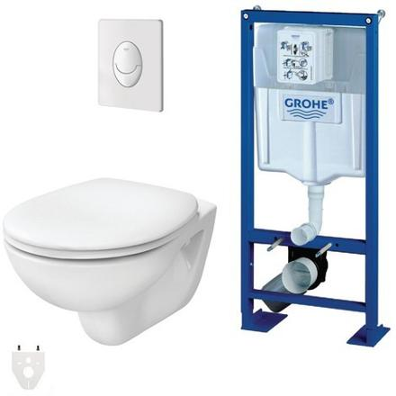 wc grohe suspendu