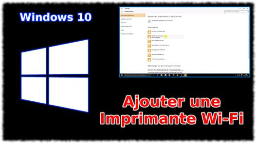 windows 10 imprimante hp