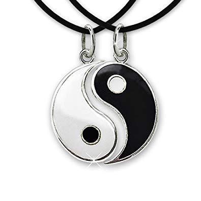 yin yang collier
